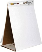 Post-it® Super Sticky zelfklevende flipovervel Table Top / Dry Erase bord Effen Wit 584 mm x 508 mm