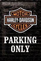 Harley Davidson - Parking Only