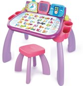 VTech Preschool Mijn Magisch Bureau 3 in 1 Roze - Activity-Center