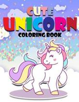 Cute Unicorn Coloring Book