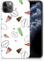 iPhone 11 Pro Max Siliconen Case IJsjes