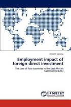 Employment Impact of Foreign Direct Investment