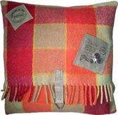 Toetie & Zo Handgemaakt Kussen Wooly 3, wol, deken, 45x45, kinderkamer