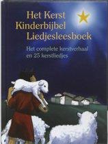Het kerst kinderbijbel liedjesleesboek