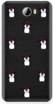 Huawei Y5II / Y6II Compact Hoesje Chillin like a penguin
