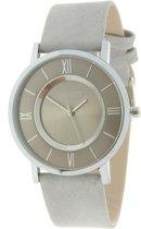 Stijlvol horloge gekleurd- grijs