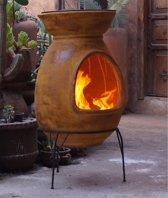 Sol-y-Yo Chimenea Mexicaanse terrashaard Barbecue XL (geel)