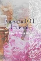 Essential Oil Recipe Journal - Special Blends & Favorite Recipes - 6'' x 9'' 100 pages Blank Notebook Organizer Book 7