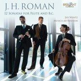 J.H. Roman: 12 Sonatas For Flute An