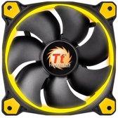 Thermaltake behuizing-ventilator 120mm Riing 12 LED Yellow