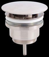Best Design Fontein Afvoer Plug All-Ways-Open RVS Look