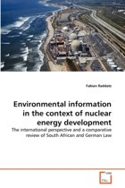 Environmental Information in the Context of Nuclear Energy Development