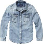 jongens Blouse Pepe Jeans London Jongens Blouse - Denim - Maat 152 8434341332490