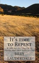 It's Time to Repent