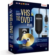 Roxio Easy VHS to DVD 3 Plus - Windows