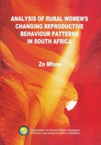 Analysis of Changing Rural Women's Reproduction Behavior Patterns in South Africa