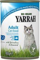 Yarrah welness pate biologische vis - 6 st à 400 gr