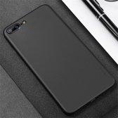 CAFELE Chiffon serie voor iPhone 8 Plus & 7 Plus PP Ultra-slim Matte terug Cover beschermhoes (zwart)