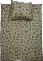 Stapelgoed Dekbedovertrek Animal Maat: 2-persoons (200 x 220 cm + 2 kussenslopen)