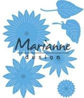 Marianne Design Creatable Mal Zonnebloem LR0545 9.5x16 centimeter