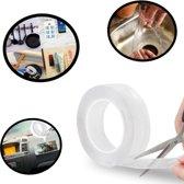 Nano Tape – Magic Tape - Super Tape - Tape – Afplak Tape - Transparante Tape – Dubbelzijdige Tape – Afwasbaar Tape – 3 Meter