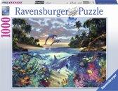 Ravensburger puzzel Koraalbaai - Legpuzzel - 1000 stukjes