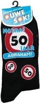 Sokken 50 jaar Abraham