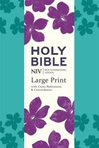 NIV Large Print Single-Column Deluxe Reference Bible