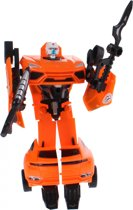 Toi-toys Roboforces Transformation Robot Oranje 18 Cm