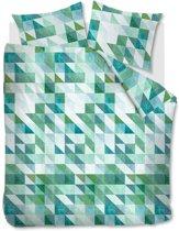Beddinghouse Jolij Dekbedovertrek - Tweepersoons - 200x200/220 cm - Green