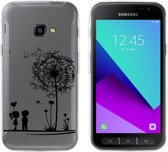MP Case TPU case love print voor Samsung Galaxy Xcover 4 back cover