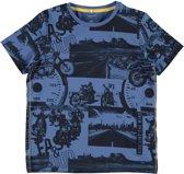 Name it Jongens T-shirt - Delft - Maat 134-140