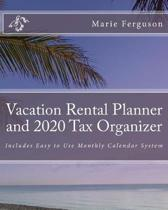 Vacation Rental Planner and 2020 Tax Organizer