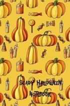Scary Halloween Notebook