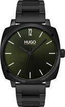 HUGO HU1530081 #OWN - Polshorloge - Staal - Zwart -  Ø 40 mm