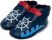 Babyslofjes Baby Dutch bootje blauw