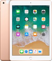 Apple iPad Wi-Fi + Cell 128GB goud