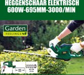 Garden Feelings Elektrische Heggenschaar - 600Watt