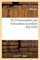 de l'�mancipation Par l'�ducation Secondaire