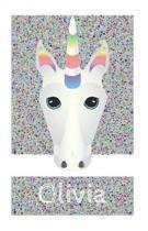 Olivia's Unicorn Notebook
