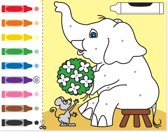 Melissa & Doug - Colour by Dots - Kleurboek
