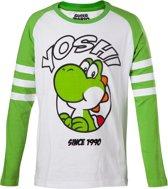 NINTENDO - T-Shirt Yoshi Longsleeve KIDS (122/128)