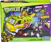 Mega Bloks Teenage Mutant Ninja Turtle JR. Partywagen - Constructiespeelgoed
