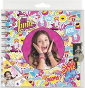 Disney Soy Luna - Dagboek Spiraal slotje (mix design) - Multi