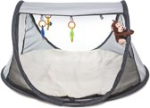 Deryan Pop-Up Play Gym Campingbedje Silver