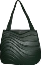 Onde Tote bag - dark Green