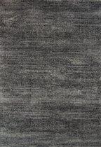 Vloerkleed Hoogpolig Shaggy Soft Gemêleerd Grijs - 80 x 150 cm