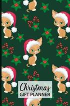 Christmas Gift Planner: Holiday Present Planner Cute Cat Cover