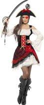 """""""Glamour piraten kostuum voor vrouwen - Verkleedkleding - Medium"""""""