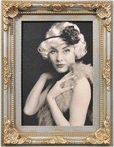 Fotolijst - Henzo - Antique Barok - Fotomaat 10x15 - Grijs